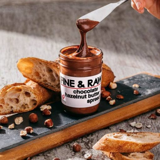 Fine and Raw Hazelnut Butter Spread